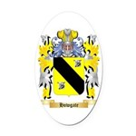 Howgate Oval Car Magnet