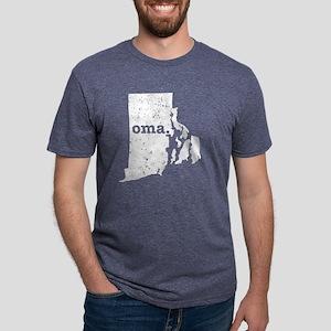 Oma Rhode Island Best Grandma T-Shirt