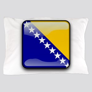 Flag of Bosnia and Herzegovina Pillow Case