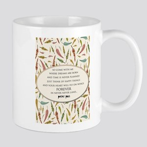 Peter Pan Neverland Mugs