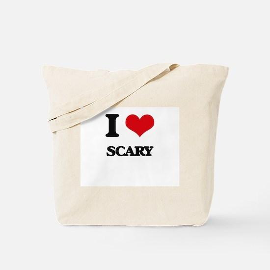 I Love Scary Tote Bag