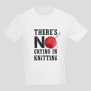 No Crying In Knitting T-Shirt