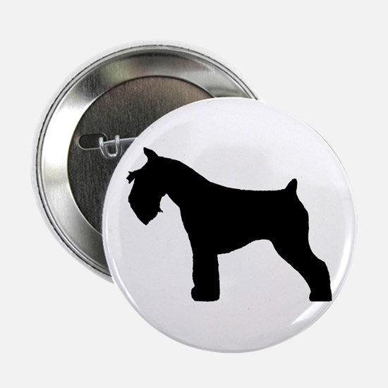 Miniature Schnauzer Button