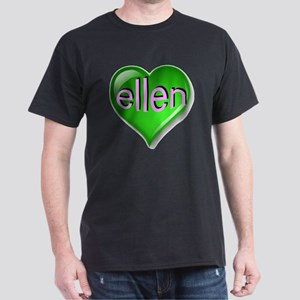 the emerald ellen heart Dark T-Shirt