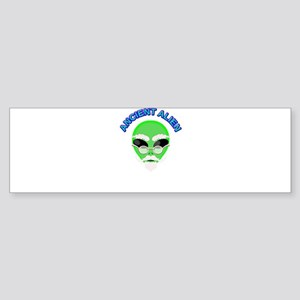 An Ancient Alien Bumper Sticker