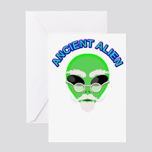 An Ancient Alien Greeting Cards