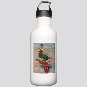 Lobster Serenade Stainless Water Bottle 1.0L
