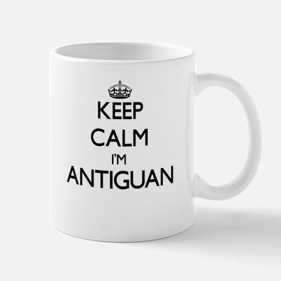 Keep Calm I'm Antiguan Mugs