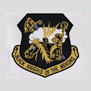 USAF Patch USAFE 4133 Bomb Wing P Bl Throw Blanket
