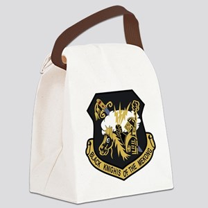 USAF Patch USAFE 4133 Bomb Wing P Canvas Lunch Bag