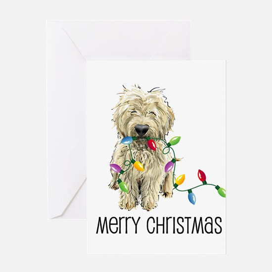 Cute Goldendoodle Greeting Card