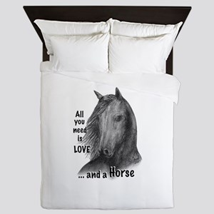 Wildhorse_All you need is LOVE ... and Queen Duvet