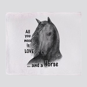 Wildhorse_All you need is LOVE ... a Throw Blanket
