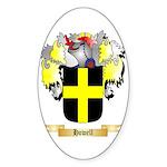 Howell Sticker (Oval 50 pk)