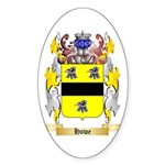 Howe English Sticker (Oval)