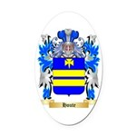 Houte Oval Car Magnet