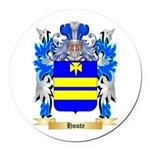Houte Round Car Magnet