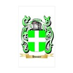 Houser Sticker (Rectangle 50 pk)
