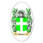 Houser Sticker (Oval 10 pk)