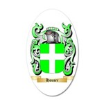 Houser 35x21 Oval Wall Decal