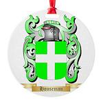 Houseman Round Ornament