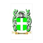 Houseman Sticker (Rectangle 10 pk)