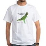 T1 Rex White T-Shirt