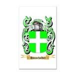 Householder Rectangle Car Magnet