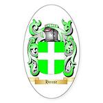 House Sticker (Oval 50 pk)