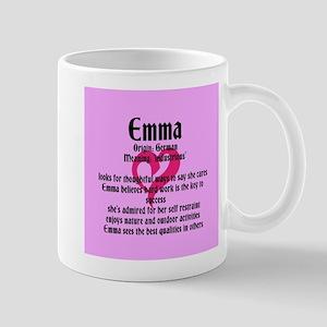 Emma Name Meaning Design Mugs