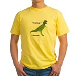 Yellow T1 Rex T-Shirt