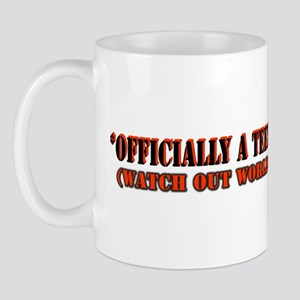OfficiallyateenRED Mugs
