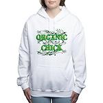 Organic Chick Women's Hooded Sweatshirt
