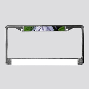 Caferopa Lotus Flower License Plate Frame