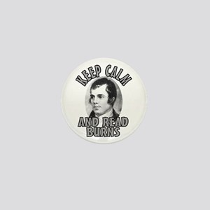 Keep Calm with Robert Burns Mini Button