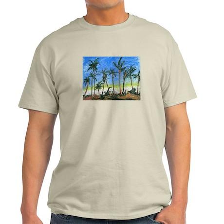 Palm Tree Beach Light T-Shirt