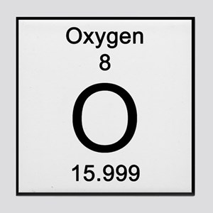 Periodic table oxygen coasters cafepress oxygen tile coaster urtaz Images