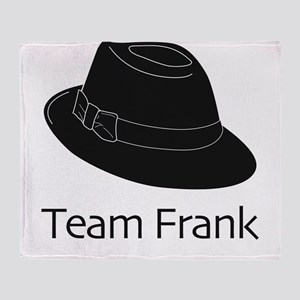 Team Frank Throw Blanket