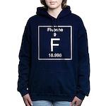 9. Fluorine Women's Hooded Sweatshirt