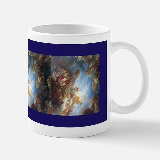Blue Versailles Scarf Mugs