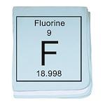 9. Fluorine baby blanket