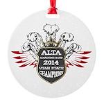 Alta Champions Round Ornament