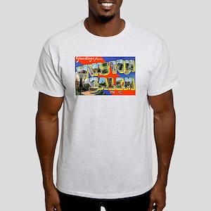 Winston-Salem North Carolina (Front) Light T-Shirt
