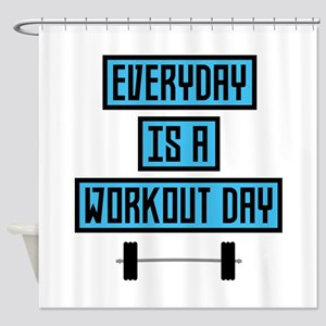 Everyday Workout Day C852m Shower Curtain