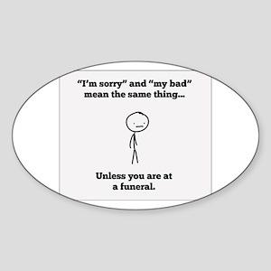 Funeral Director Sticker