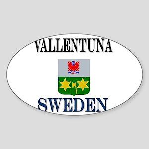 The Vallentuna Store Oval Sticker