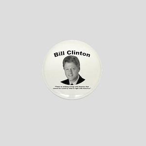 Clinton: America Mini Button