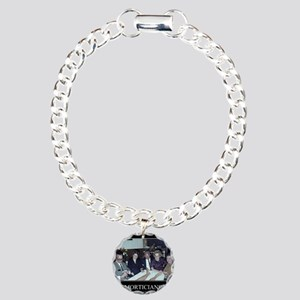 Funeral Director Charm Bracelet, One Charm