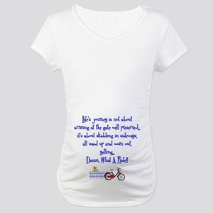 Lifes Journey II Maternity T-Shirt