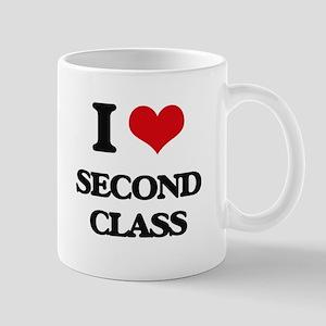 I Love Second Class Mugs